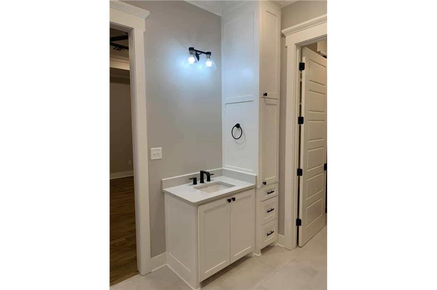Master Bathroom: Sink/Vanity of this 3-Bedroom,2535 Sq Ft Plan -206-1007