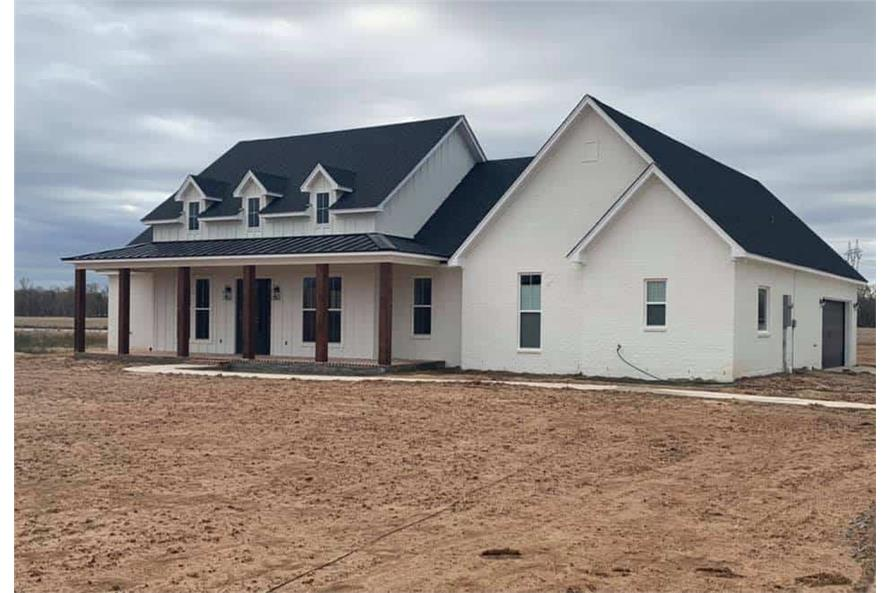 Right Side View of this 3-Bedroom,2535 Sq Ft Plan -206-1007