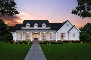 3-Bedroom, 2535 Sq Ft Modern Farmhouse Home - Plan #206-1007 - Main Exterior