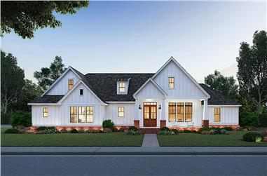 3-Bedroom, 1967 Sq Ft Cottage Home - Plan #206-1014 - Main Exterior