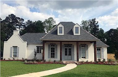 4-Bedroom, 3527 Sq Ft Acadian Home - Plan #206-1021 - Main Exterior