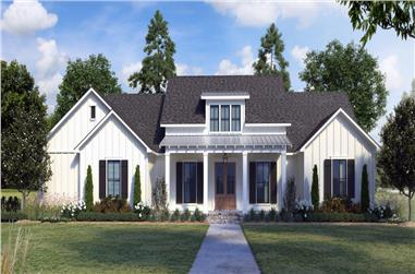 4-Bedroom, 2234 Sq Ft Farmhouse Home - Plan #206-1036 - Main Exterior