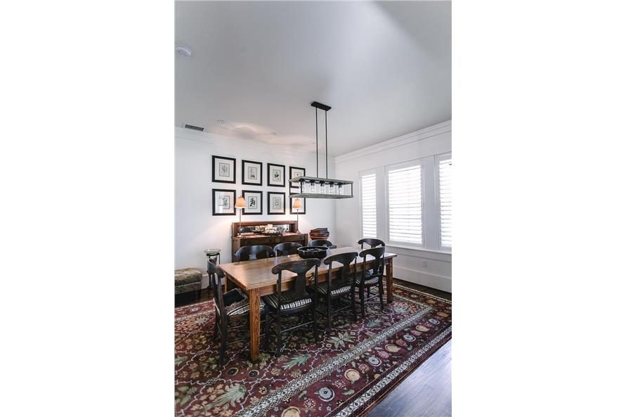Dining Room of this 4-Bedroom,3328 Sq Ft Plan -207-1004