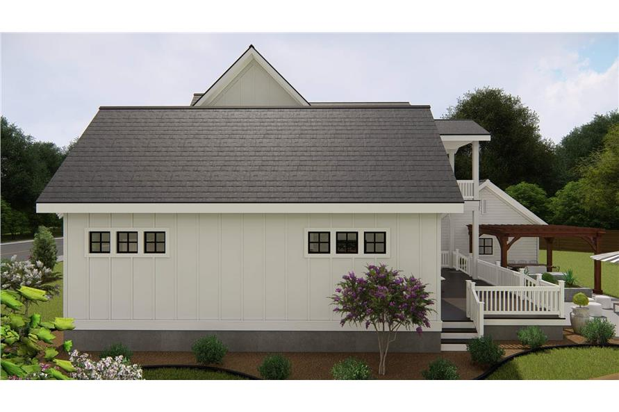 Right View of this 4-Bedroom,3328 Sq Ft Plan -207-1004