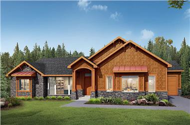 3-Bedroom, 2681 Sq Ft Country Home - Plan #208-1001 - Main Exterior