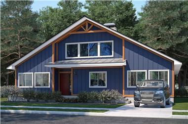 3-Bedroom, 2838 Sq Ft Country Home - Plan #208-1007 - Main Exterior