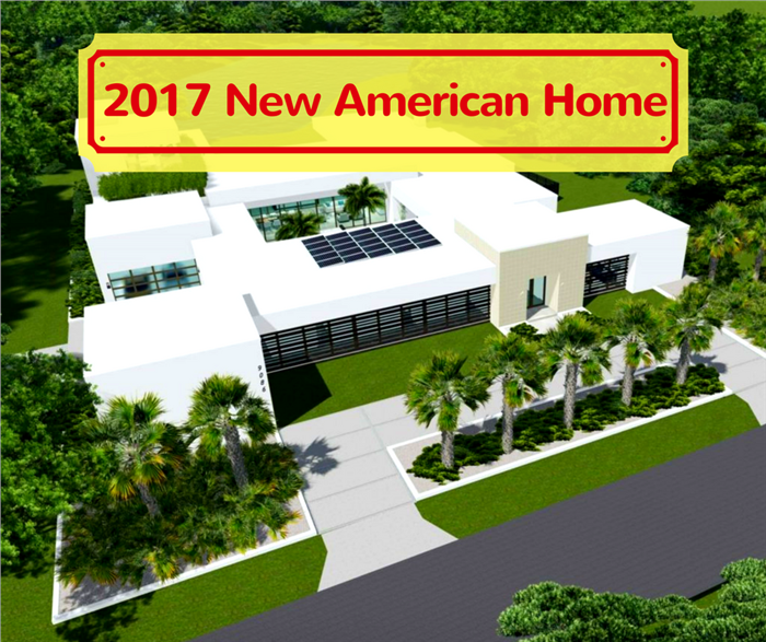 The 2017 new american home s features reflect modern for New american home