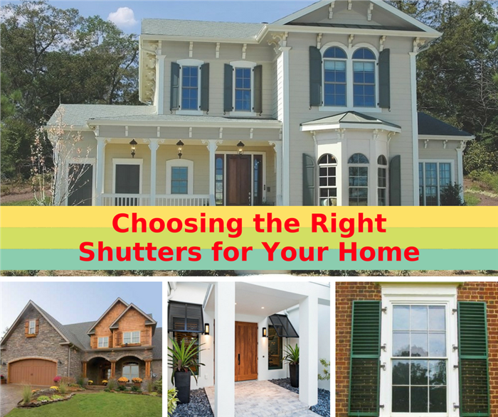 how to add shutters to your house
