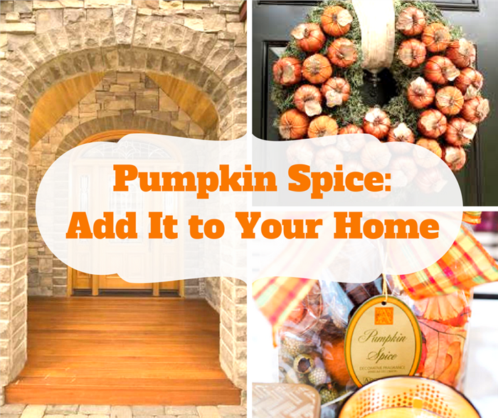 Montage of 3 photos illustrating Pumpkin Spice