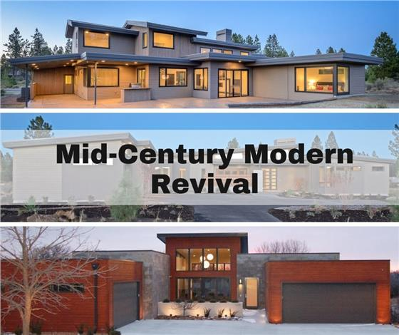 learn house plan Transitional Mid-Century Modern House Plans: Resurgence of a Classic