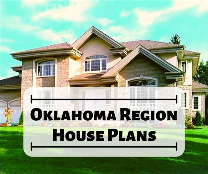Prairie style home illustrating an article about Oklahoma house plans