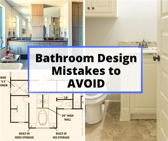 learn house plan Common Bathroom Design Mistakes and How to Avoid Them