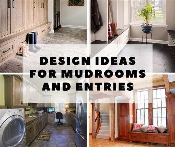 learn house plan Design Ideas for Entryways and Mudrooms