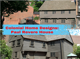 Montage of 2 photos illustrating article on Paul Revere House