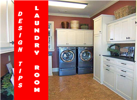 Photo of laundry room in house plan #163-1047