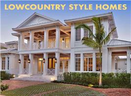 Southern style home with 2-story porch illustrating article about Lowcountry Architecture