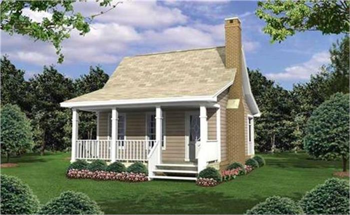 Is tiny living for you? (House Plan #141-1076)