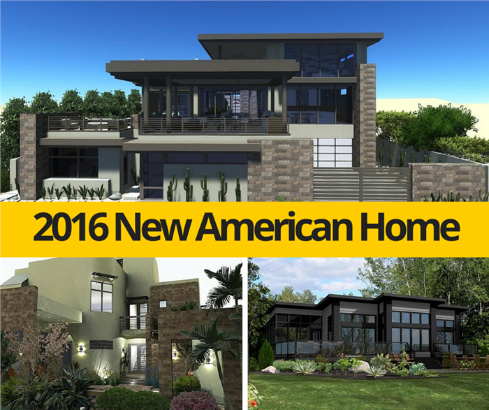 Top Design Ideas From The New American Home