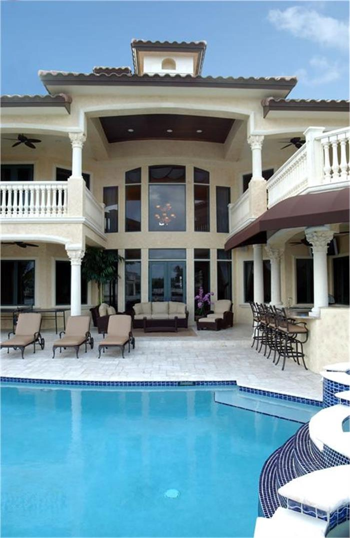 Florida pool house plans house design plans for Florida house plans with pool