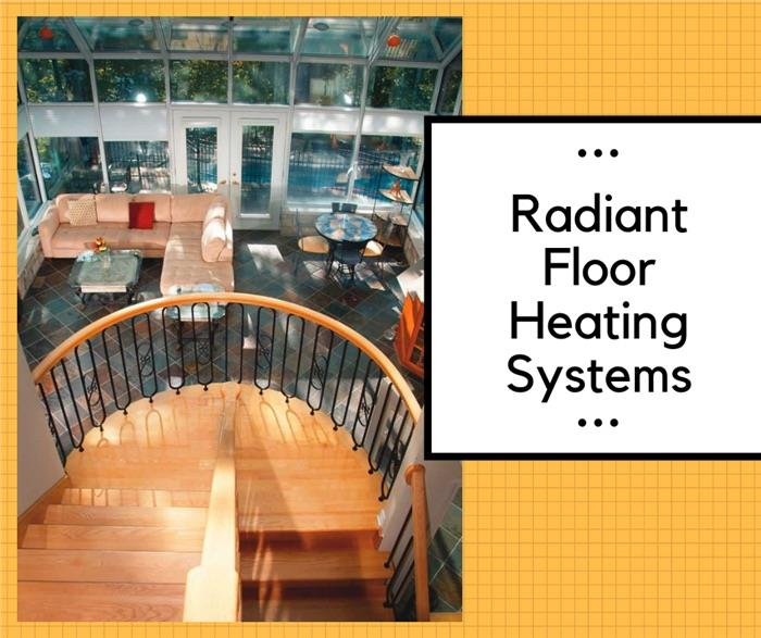 Article on radiant floor heating systems