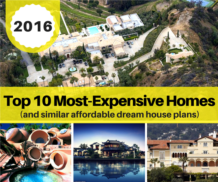 2016u0027s Top 10 Most Expensive Christmas Gifts In Real Estate U2013 And  Affordable House Plan Alternatives