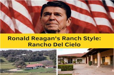 Article Category Ranch Style Home Designs: President Ronald Reagan's Rancho del Cielo