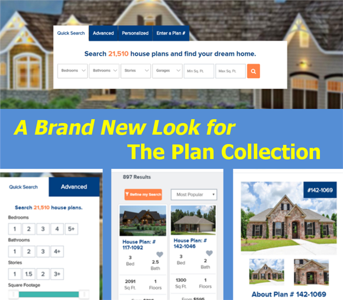 Come visit our new responsive website find your house plans for Brand new house plans