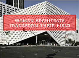 Broad Museum in Los Angeles illustrate article about women architects in 2019