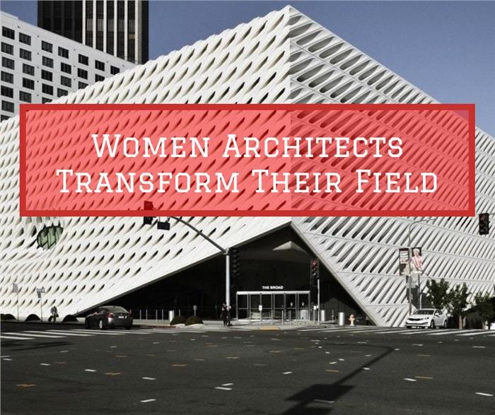 Broad Museum in Los Angeles illustrates article about women architects