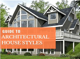 Transitional rustic vacation home illustrating article on architectural house styles