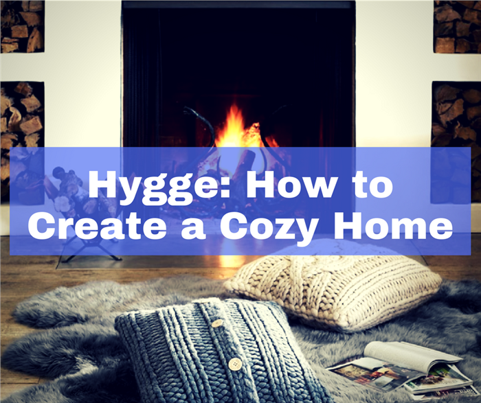 Image illustrating an article about creating a cozy home