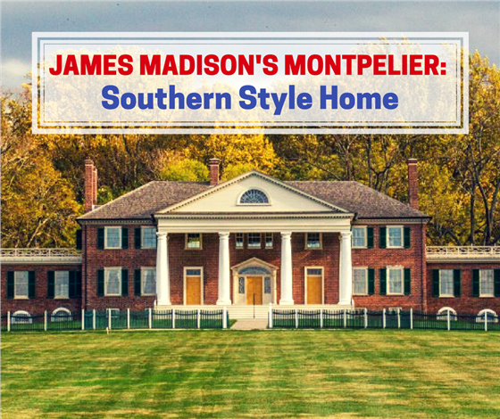 learn house plan Southern Style Plantation Home Designs: President James Madison's Montpelier