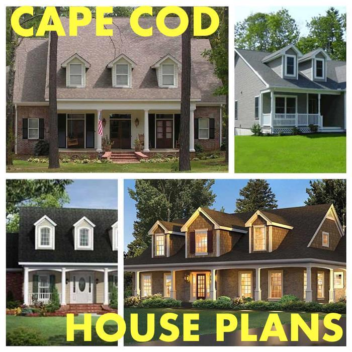 Collection of Cape Cod home designs