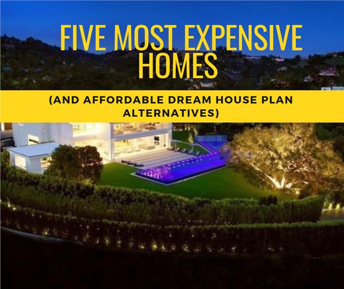 Multi-million-dollar estate illustrating article on world's most expensive homes