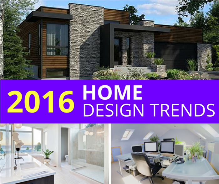10 Hot Trends in Home Design for 2016