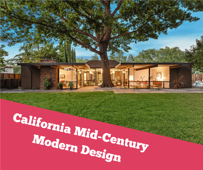 An Eichler mid-century modern home illustrating an article on Eichler's influence on residential architecture