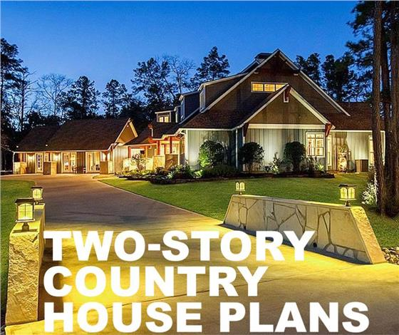 learn house plan 11 Reasons to Make a 2-Story Country Style House Plan Your Dream Home