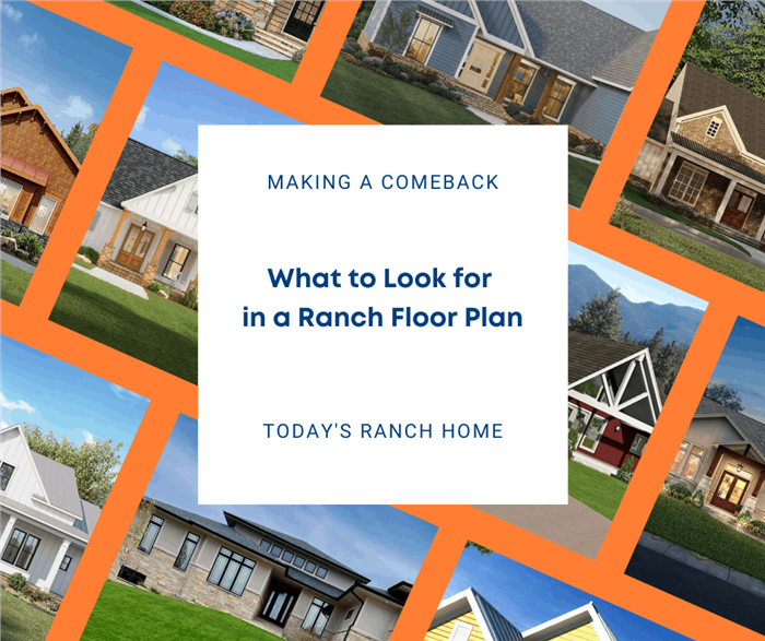 Photograph illustrating article about Ranch style house plans