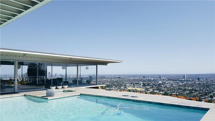 Stahl House in Los Angeles, California