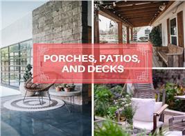 Patios, Porches, Decks: A Statistical Guide to Exploring Outdoor Living