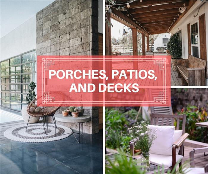 Patios, Porches, Decks: A Statistical Guide to Exploring Outdoor Living