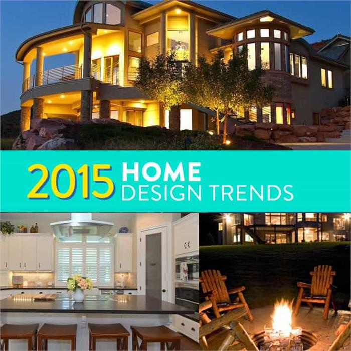 2015 Home Design Trends - montage