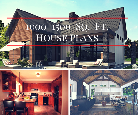 learn house plan 1000–1500-Square-Foot House Plans: Not Your Mom's Small Home