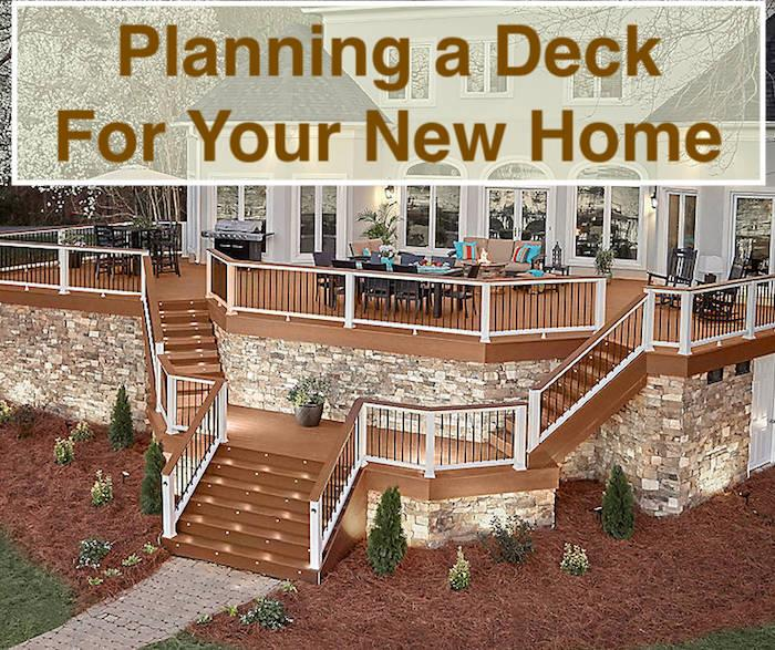 Photograph illustrating article about planning a deck