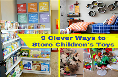 Article Category Clever Ways to Store Children's Toys