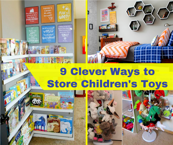 learn house plan Clever Ways to Store Children's Toys
