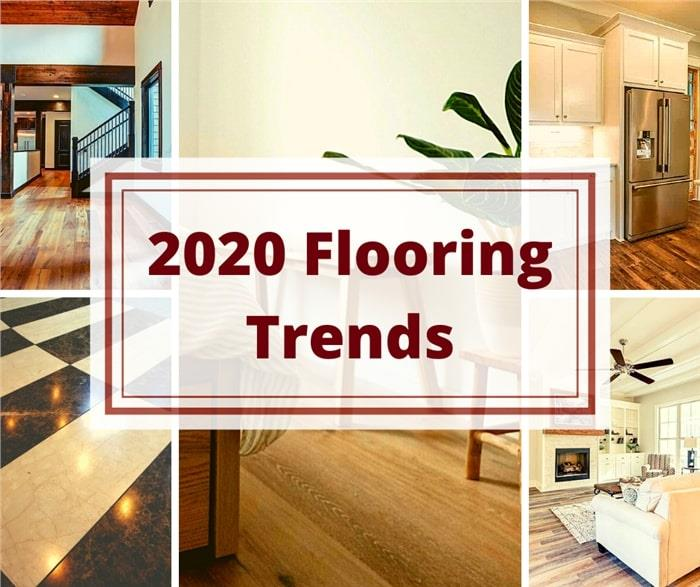 5 photos floors for article about 2020 flooring trends
