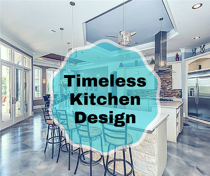 Photo of a kitchen to illustrate timeless kitchen design