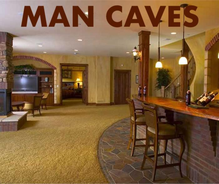 Man Cave: How to Design a Man's Comfort Zone