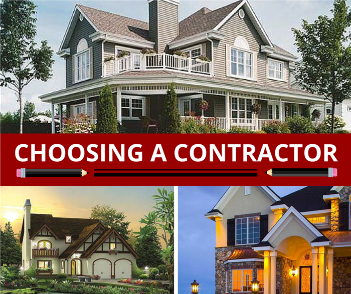 Choosing a contractor to build your dream home for How to choose a building contractor